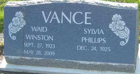 VANCE, WAID WINSTON - Franklin County, Ohio | WAID WINSTON VANCE - Ohio Gravestone Photos