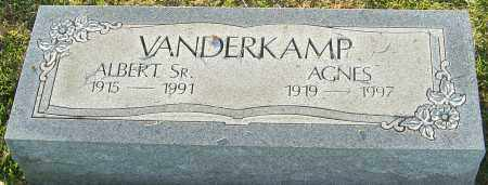 VANDERKAMP, AGNES - Franklin County, Ohio | AGNES VANDERKAMP - Ohio Gravestone Photos