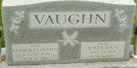 VAUGHN, JULIA ANN - Franklin County, Ohio | JULIA ANN VAUGHN - Ohio Gravestone Photos