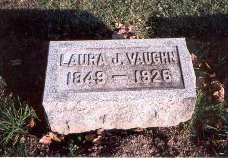 VAUGHN, LAURA J. - Franklin County, Ohio | LAURA J. VAUGHN - Ohio Gravestone Photos