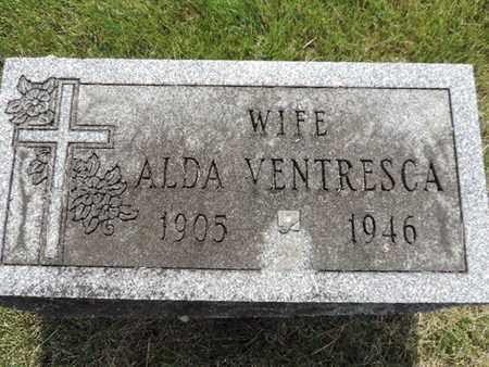 VENTRESCA, ALDA - Franklin County, Ohio | ALDA VENTRESCA - Ohio Gravestone Photos