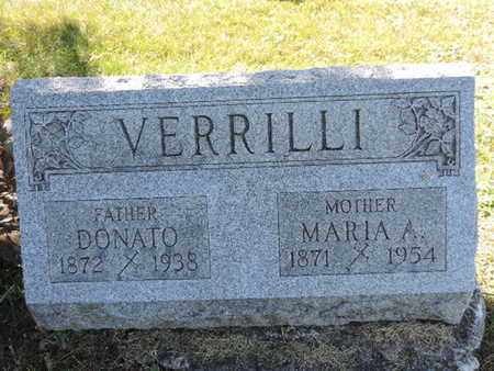 VERRILLI, DONATO - Franklin County, Ohio | DONATO VERRILLI - Ohio Gravestone Photos