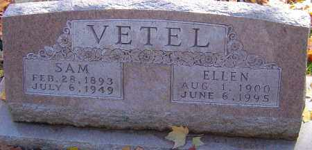 VETEL, ELLEN - Franklin County, Ohio | ELLEN VETEL - Ohio Gravestone Photos