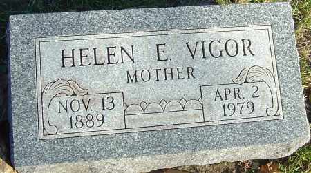 VIGOR, HELEN E - Franklin County, Ohio | HELEN E VIGOR - Ohio Gravestone Photos