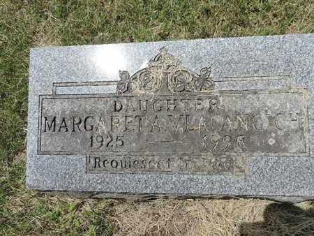 VLACANGICH, MARGARET A. - Franklin County, Ohio | MARGARET A. VLACANGICH - Ohio Gravestone Photos