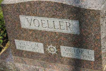 VOELLER, VICTOR - Franklin County, Ohio | VICTOR VOELLER - Ohio Gravestone Photos