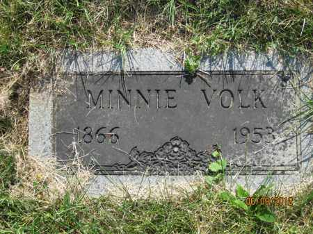 ELSESSER VOLK, MINNIE - Franklin County, Ohio | MINNIE ELSESSER VOLK - Ohio Gravestone Photos
