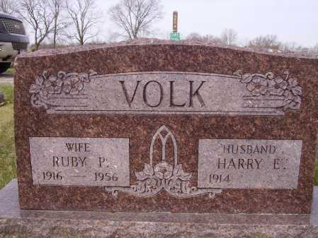 VOLK, HARRY E. - Franklin County, Ohio | HARRY E. VOLK - Ohio Gravestone Photos