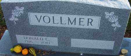 VOLLMER, DONALD - Franklin County, Ohio | DONALD VOLLMER - Ohio Gravestone Photos