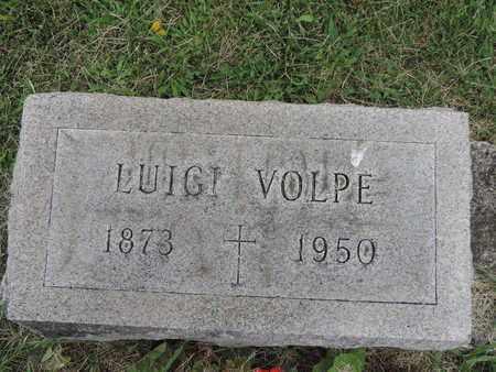 VOLPE, LUIGI - Franklin County, Ohio | LUIGI VOLPE - Ohio Gravestone Photos