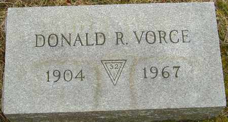 VORCE, DONALD R - Franklin County, Ohio | DONALD R VORCE - Ohio Gravestone Photos