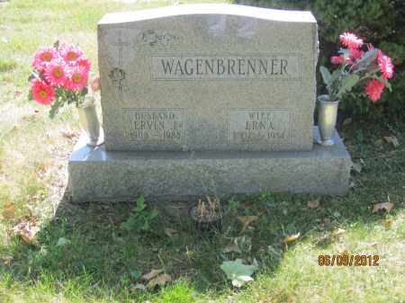 WAGENBRENNER, ERNA - Franklin County, Ohio | ERNA WAGENBRENNER - Ohio Gravestone Photos
