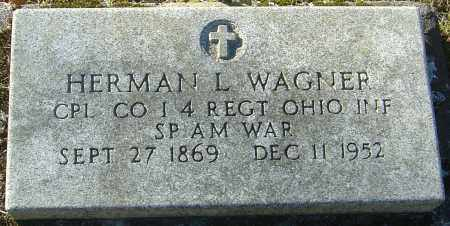 WAGNER, HERMAN LORENZ - Franklin County, Ohio | HERMAN LORENZ WAGNER - Ohio Gravestone Photos