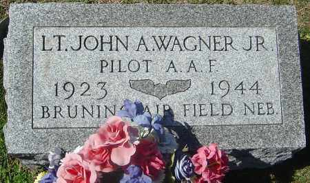 WAGNER JR, JOHN A - Franklin County, Ohio | JOHN A WAGNER JR - Ohio Gravestone Photos