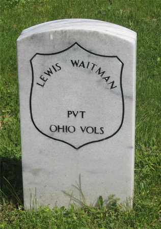 WAITMAN, LEWIS - Franklin County, Ohio | LEWIS WAITMAN - Ohio Gravestone Photos