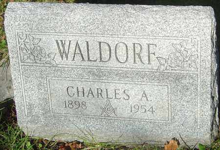 WALDORF, CHARLES ALFRED - Franklin County, Ohio | CHARLES ALFRED WALDORF - Ohio Gravestone Photos