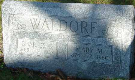 WALDORF, MARY M - Franklin County, Ohio | MARY M WALDORF - Ohio Gravestone Photos
