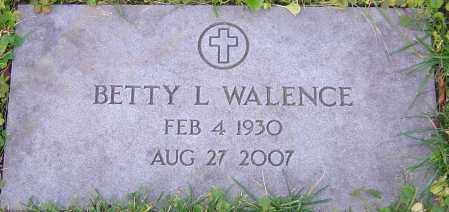 WALENCE, BETTY - Franklin County, Ohio | BETTY WALENCE - Ohio Gravestone Photos