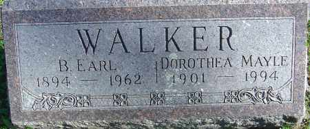 MAYLE WALKER, DOROTHEA - Franklin County, Ohio | DOROTHEA MAYLE WALKER - Ohio Gravestone Photos