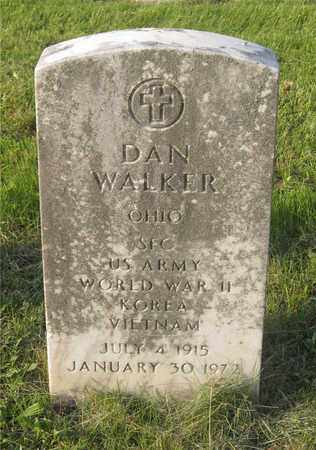 WALKER, DAN - Franklin County, Ohio | DAN WALKER - Ohio Gravestone Photos
