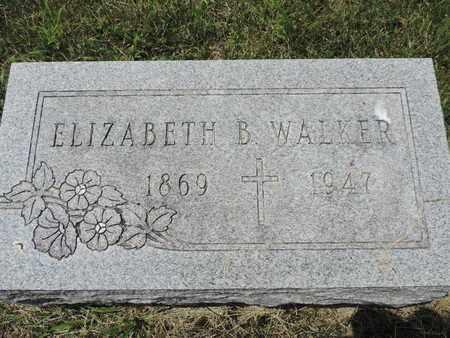 WALKER, ELIZABETH B. - Franklin County, Ohio | ELIZABETH B. WALKER - Ohio Gravestone Photos