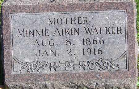 WALKER, MINNIE - Franklin County, Ohio | MINNIE WALKER - Ohio Gravestone Photos