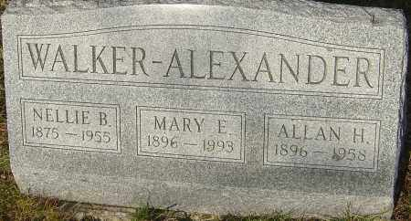 ALEXANDER, MARY E - Franklin County, Ohio | MARY E ALEXANDER - Ohio Gravestone Photos