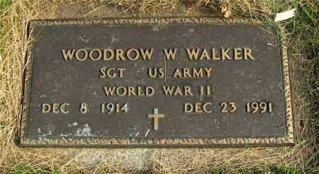 WALKER, WOODROW W. - Franklin County, Ohio | WOODROW W. WALKER - Ohio Gravestone Photos