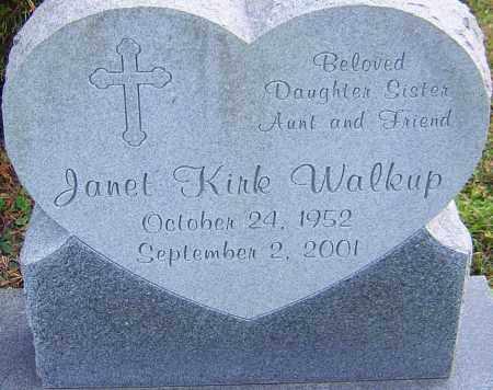 KIRK WALKUP, JANET - Franklin County, Ohio | JANET KIRK WALKUP - Ohio Gravestone Photos