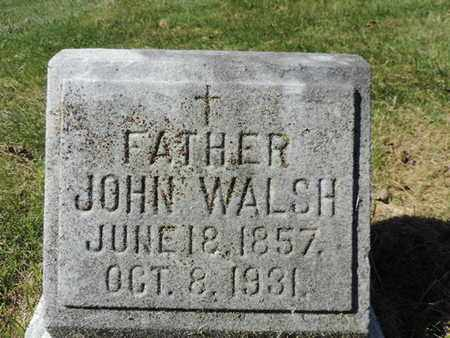 WALSH, JOHN - Franklin County, Ohio | JOHN WALSH - Ohio Gravestone Photos