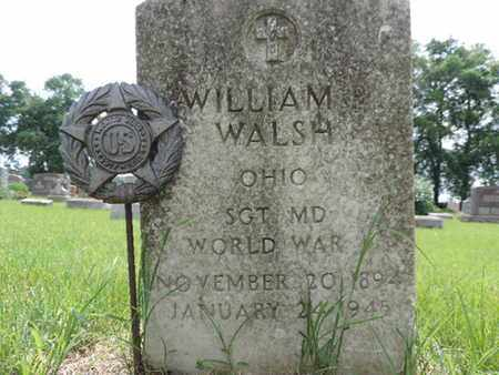WALSH, WILLIAM - Franklin County, Ohio | WILLIAM WALSH - Ohio Gravestone Photos