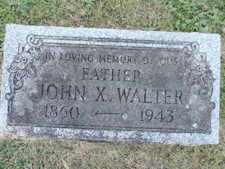 WALTER, JOHN X. - Franklin County, Ohio | JOHN X. WALTER - Ohio Gravestone Photos