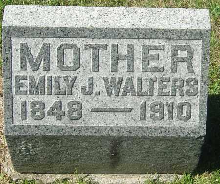 STEWART WALTERS, EMILY J - Franklin County, Ohio | EMILY J STEWART WALTERS - Ohio Gravestone Photos
