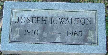 WALTON, JOSEPH R - Franklin County, Ohio | JOSEPH R WALTON - Ohio Gravestone Photos