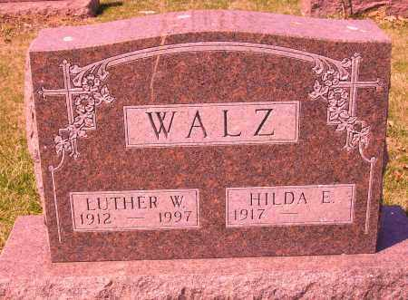 WALZ, LUTHER W. - Franklin County, Ohio | LUTHER W. WALZ - Ohio Gravestone Photos