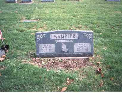 WAMPLER, REBECCA - Franklin County, Ohio | REBECCA WAMPLER - Ohio Gravestone Photos