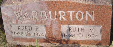 WARBURTON, REED F - Franklin County, Ohio | REED F WARBURTON - Ohio Gravestone Photos