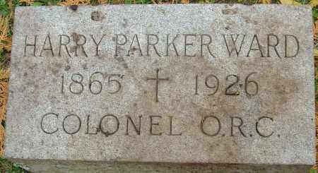 WARD, HARRY PARKER - Franklin County, Ohio | HARRY PARKER WARD - Ohio Gravestone Photos