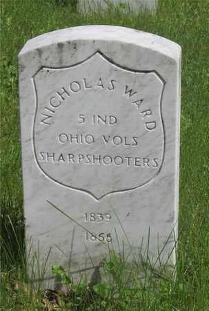 WARD, NICHOLAS - Franklin County, Ohio | NICHOLAS WARD - Ohio Gravestone Photos