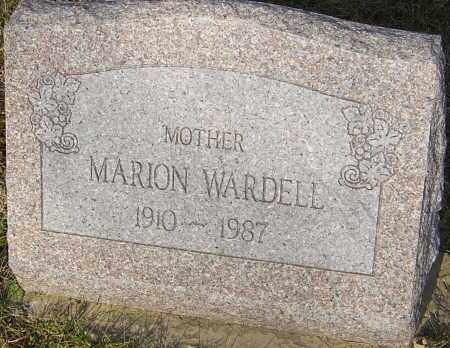 WARDELL, MARION - Franklin County, Ohio | MARION WARDELL - Ohio Gravestone Photos