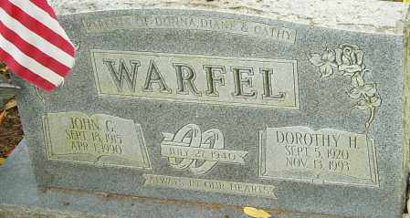 WARFEL, JOHN - Franklin County, Ohio | JOHN WARFEL - Ohio Gravestone Photos