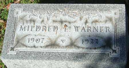 WARNER DODSON, MILDRED E - Franklin County, Ohio | MILDRED E WARNER DODSON - Ohio Gravestone Photos