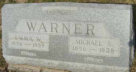 WARNER, MICHAEL SNOUFFER - Franklin County, Ohio | MICHAEL SNOUFFER WARNER - Ohio Gravestone Photos