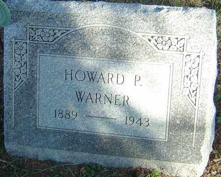 WARNER, HOWARD PRATT - Franklin County, Ohio | HOWARD PRATT WARNER - Ohio Gravestone Photos