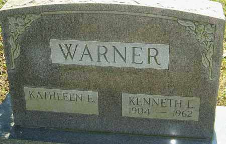 WARNER, KENNETH L - Franklin County, Ohio | KENNETH L WARNER - Ohio Gravestone Photos
