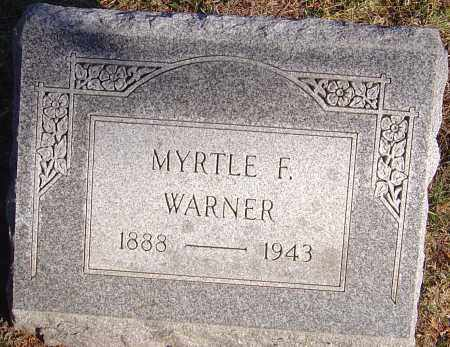 WARNER, MYRTLE - Franklin County, Ohio | MYRTLE WARNER - Ohio Gravestone Photos
