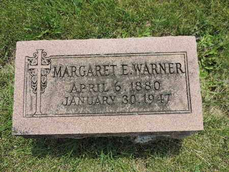 WARNER, MARGARET E. - Franklin County, Ohio | MARGARET E. WARNER - Ohio Gravestone Photos