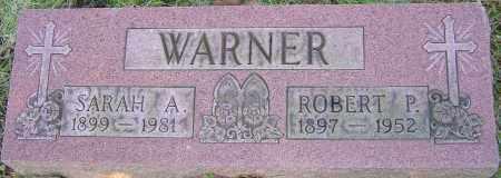 WARNER, SARAH A - Franklin County, Ohio   SARAH A WARNER - Ohio Gravestone Photos