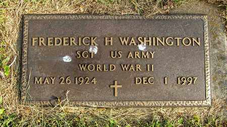 WASHINGTON, FREDERICK H. - Franklin County, Ohio | FREDERICK H. WASHINGTON - Ohio Gravestone Photos