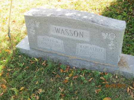 WASSON, HARRY DALE - Franklin County, Ohio | HARRY DALE WASSON - Ohio Gravestone Photos